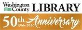 Washington County Library 50th Anniversary logo