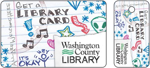 A Library Card  Washington County Library Mn