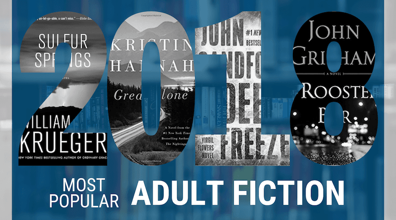 Most Popular Books 2018 Adult Fiction