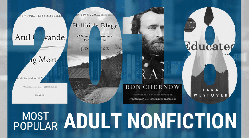Most Popular Books 2018 Adult Nonfiction
