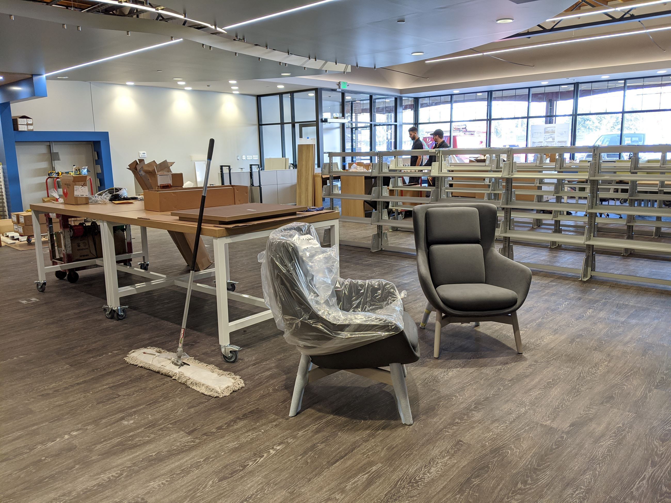 valley library renovation december 2019