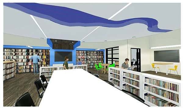 Valley Library Rendering 2