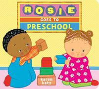 book cover rosie goes to preschool