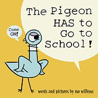 book cover the pigeon has to go to school