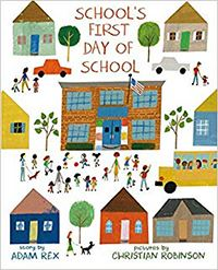 book cover schools first day of school